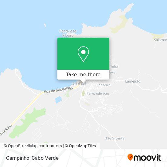 Campinho mapa
