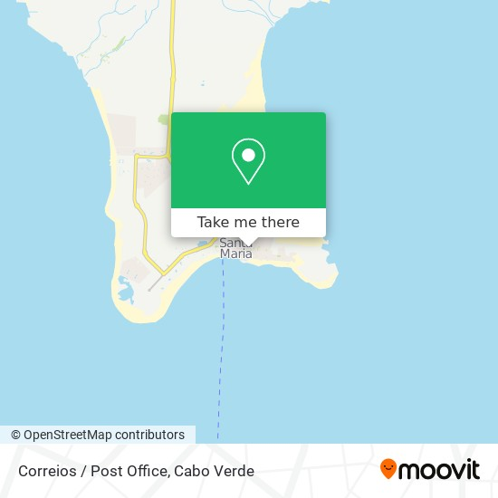 Correios/Postoffice mapa