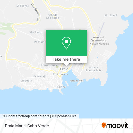 Praia Maria mapa
