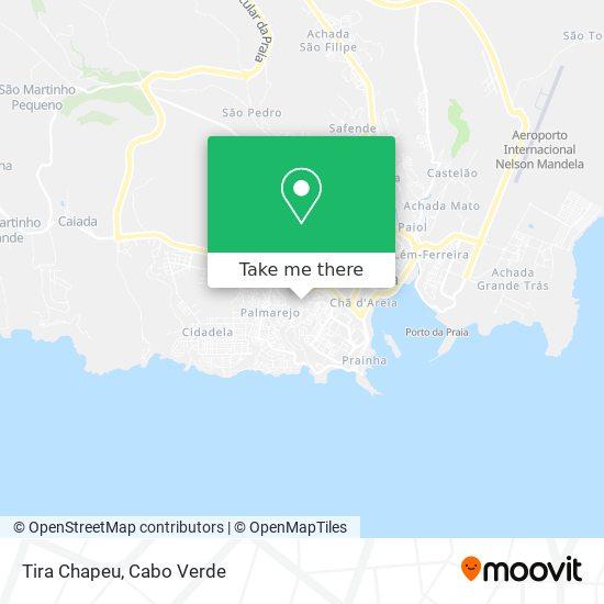 Tira Chapeu mapa