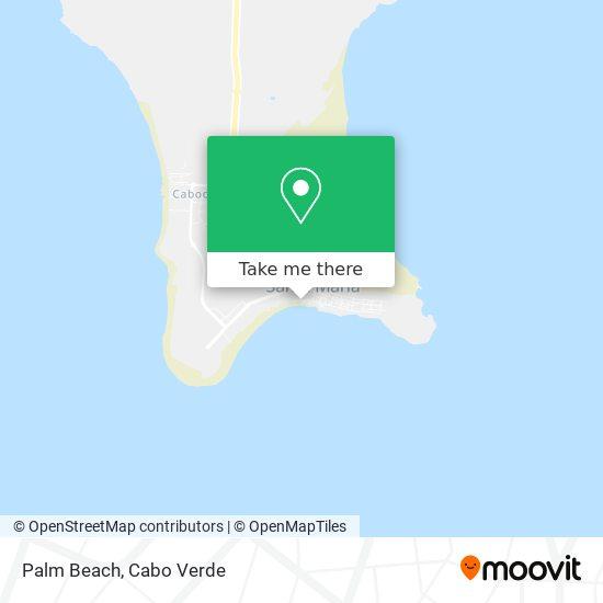 Palm Beach mapa