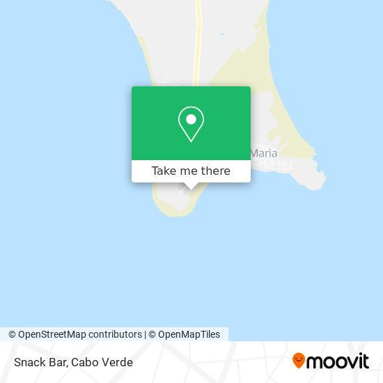 Snack Bar mapa