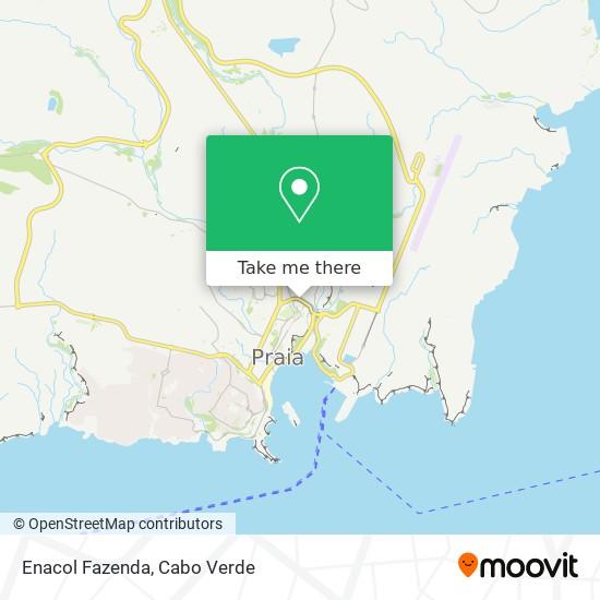 Enacol Fazenda mapa