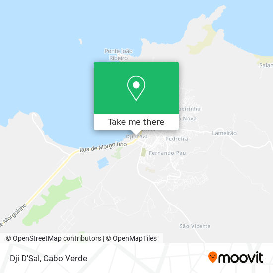 Dji D'Sal mapa