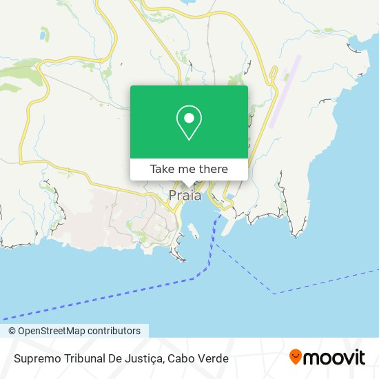 Supremo Tribunal De Justiça mapa