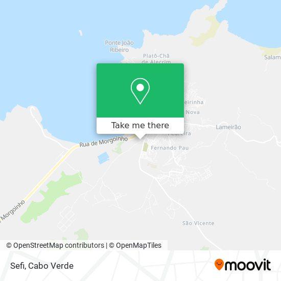 Sefi mapa