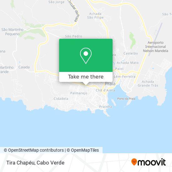 Tira Chapéu mapa