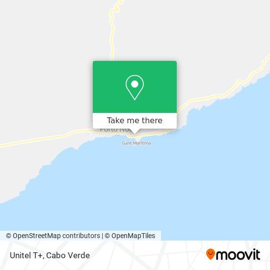 Unitel T+ mapa