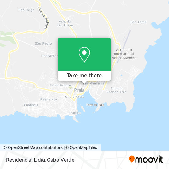 Residencial Lidia mapa