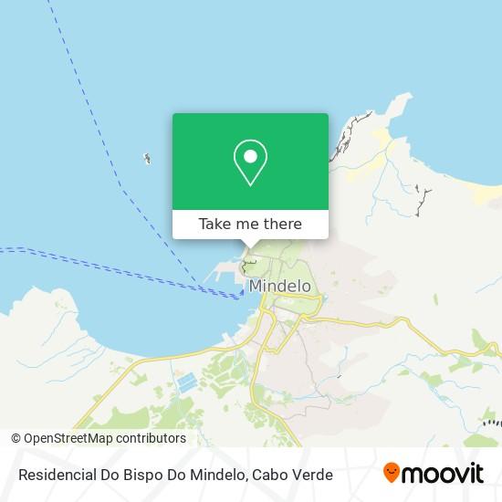 Residencial Do Bispo Do Mindelo mapa