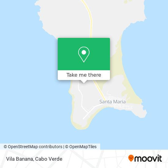 Vila Banana mapa