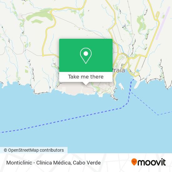 Monticlinic - Clínica Médica mapa
