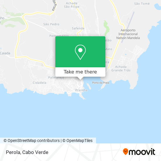 Perola mapa