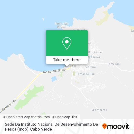 Sede Da Instituto Nacional De Desenvolvimento De Pesca (Indp) mapa