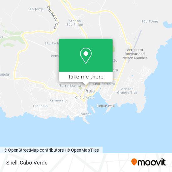 Shell mapa