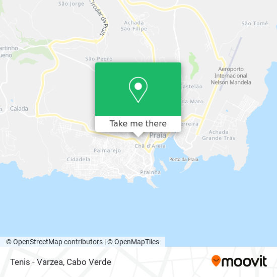Tenis - Varzea mapa