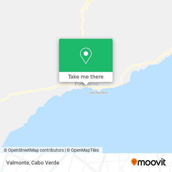 Valmonte mapa