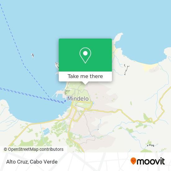 Alto Cruz mapa