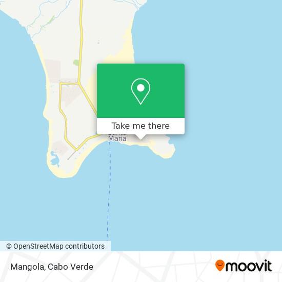 Mangola mapa