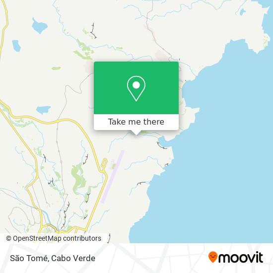 Sao Tome mapa