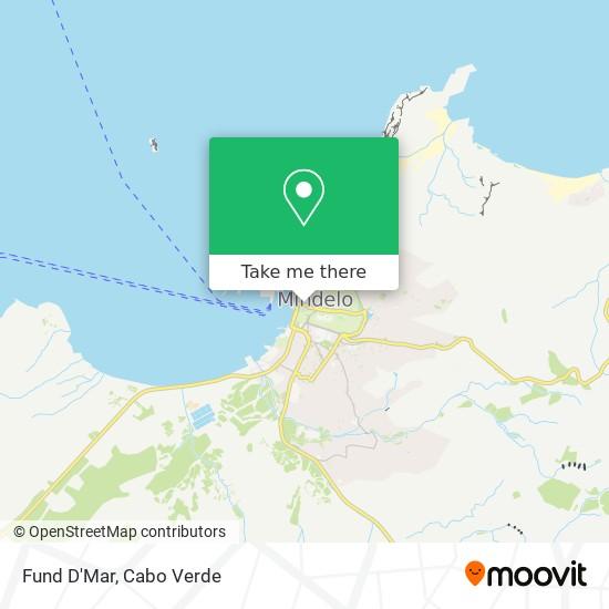 Fund D'Mar mapa