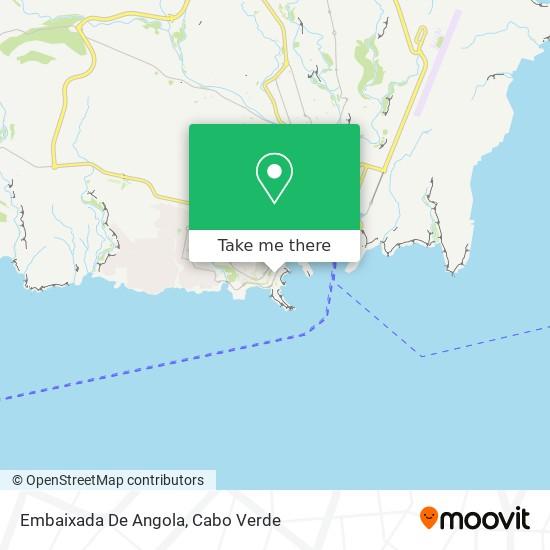 Embaixada De Angola mapa