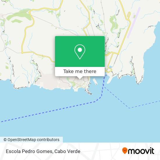 Escola Pedro Gomes mapa