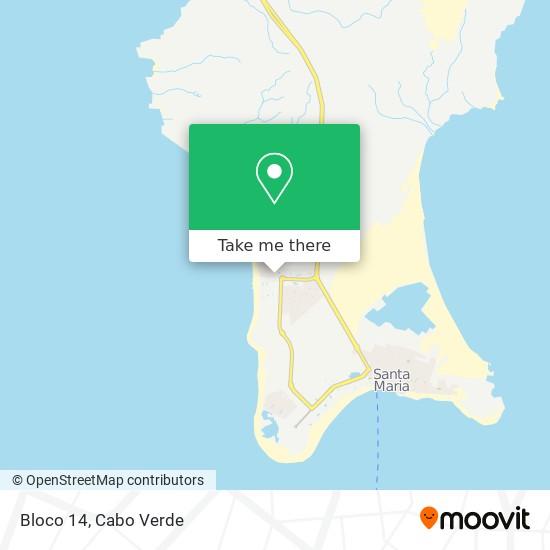 Bloco 14 mapa
