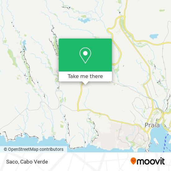Saco mapa