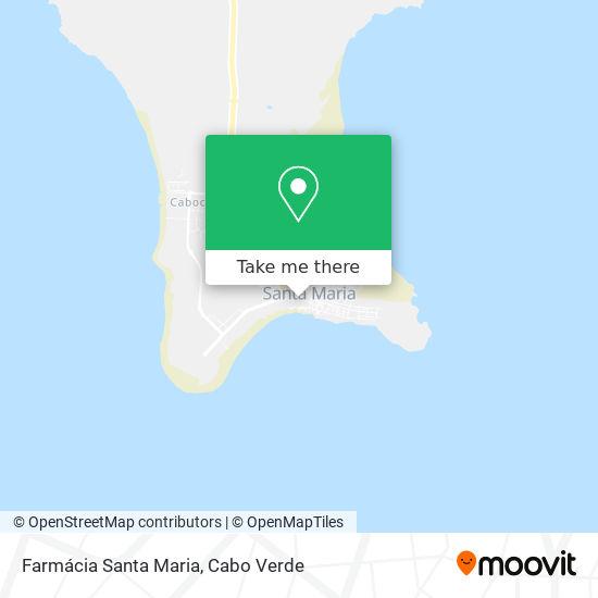 Farmácia Santa Maria mapa