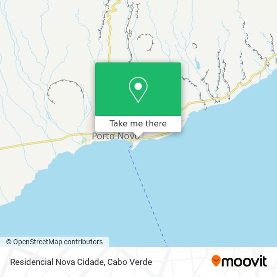 Residencial Nova Cidade mapa