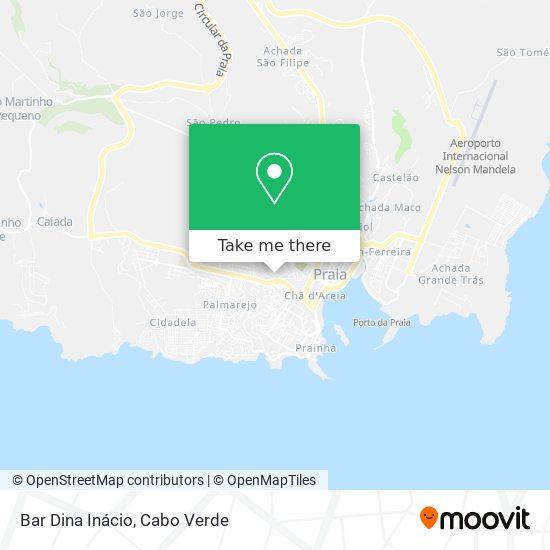 Bar Dina Inácio mapa