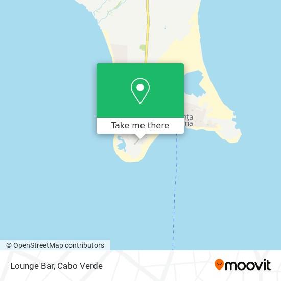 Lounge Bar mapa