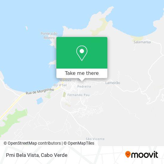 Pmi Bela Vista mapa