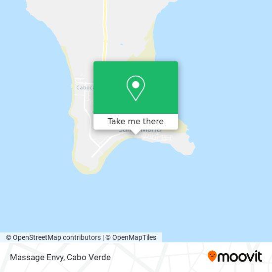 Massage Envy mapa