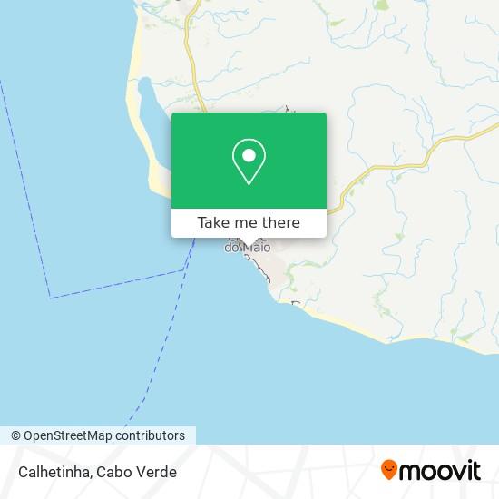 Calhetinha mapa