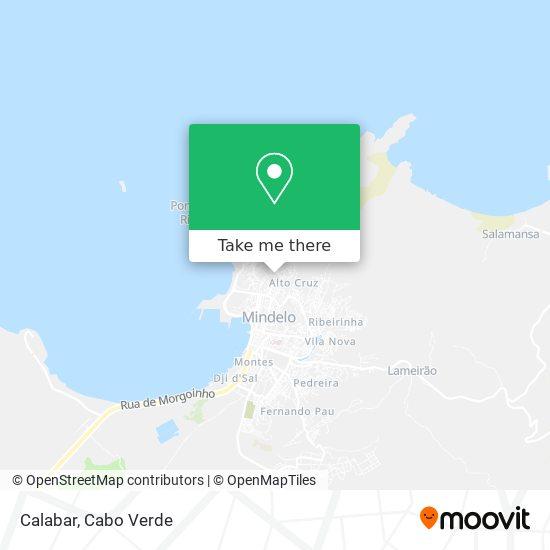 Calabar mapa