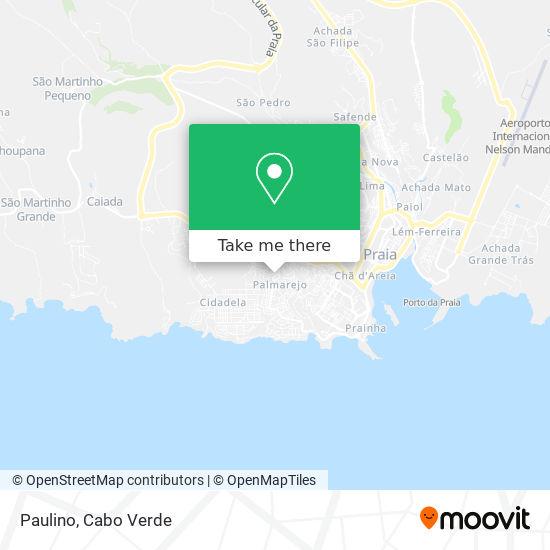Paulino mapa