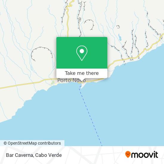 Bar Caverna mapa