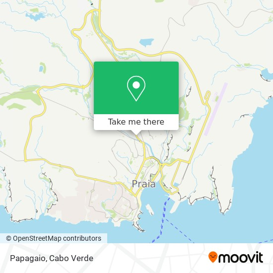 Papagaio mapa