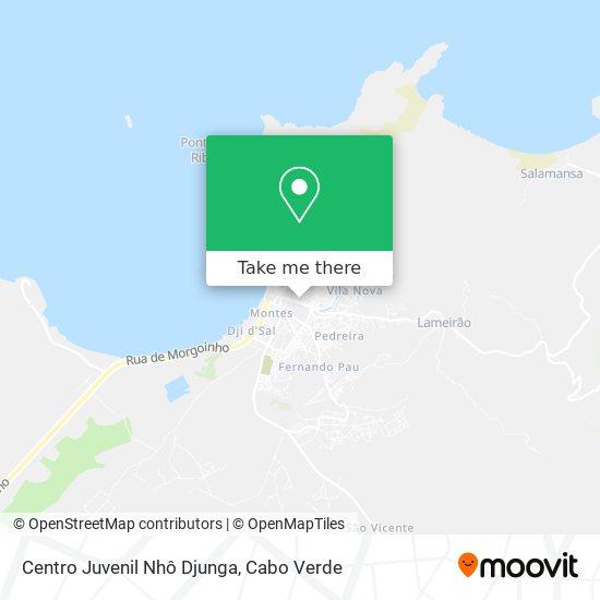 Centro Juvenil Nhô Djunga mapa