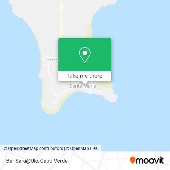 Bar Sara@Ule mapa