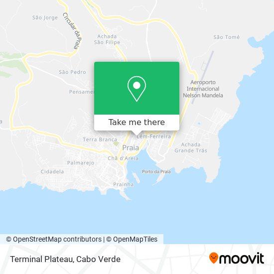 Terminal Plateau mapa