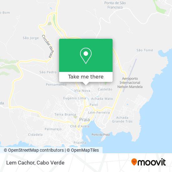 Lem Cachor mapa