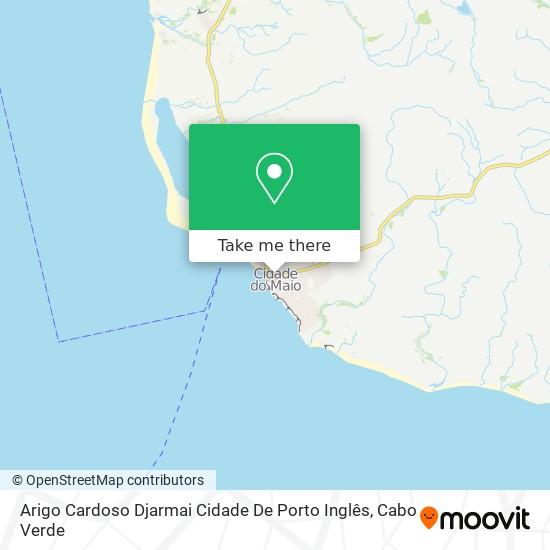 Arigo Cardoso Djarmai Cidade De Porto Inglês mapa
