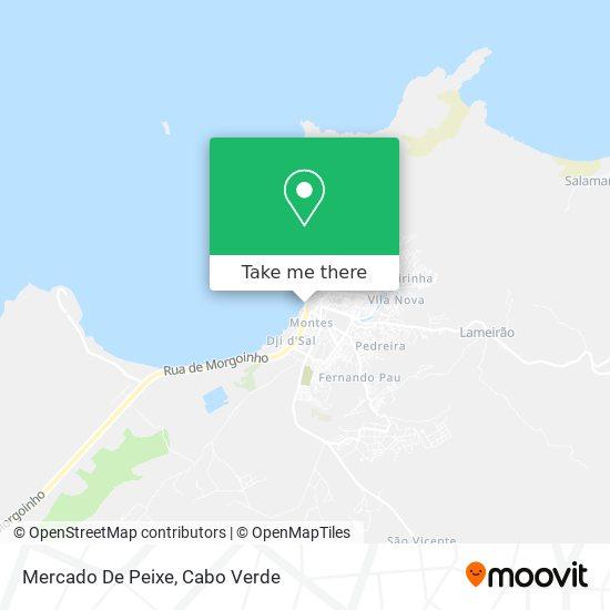 Mercado De Peixe mapa
