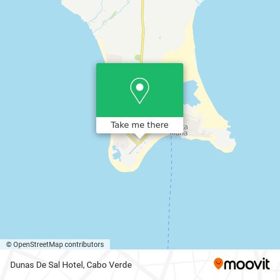Dunas De Sal mapa
