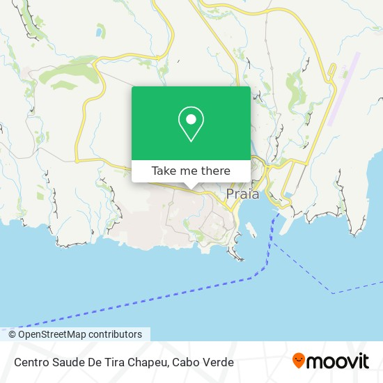 Centro Saude De Tira Chapeu mapa