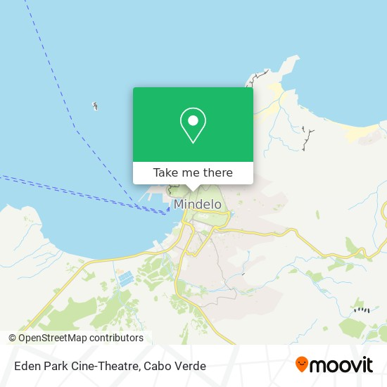 Eden Park Cine-Theatre mapa