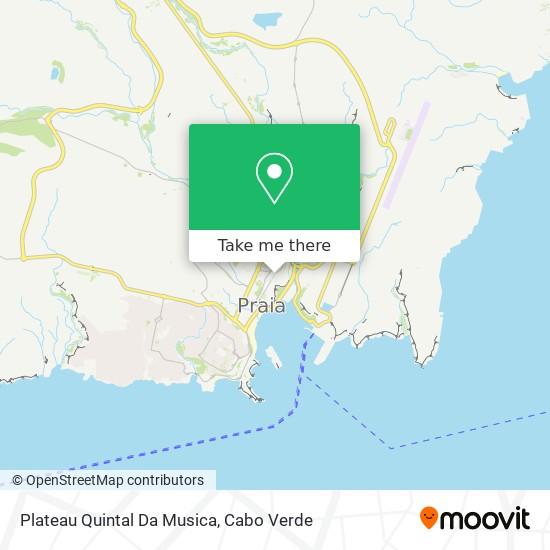 Plateau Quintal Da Musica mapa